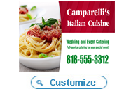 Italian Restaurant Catering and Delivery