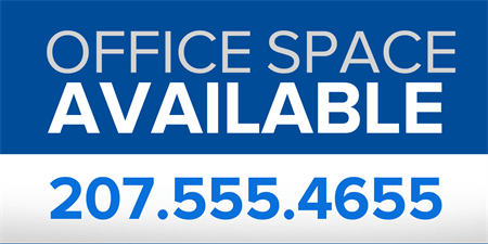 Office Space for Lease Car Magnet: 883-1