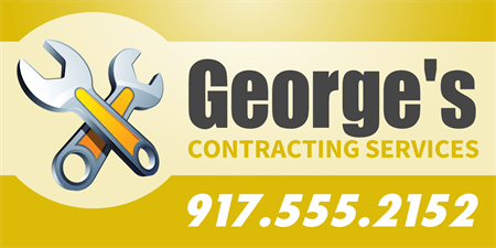 Contractor Services Car Magnet: 905-1