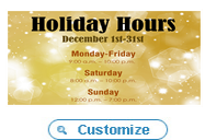 Business Holiday Hours
