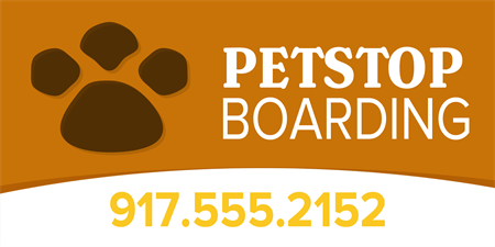 Pet Boarding Service Business Card: 1037-1