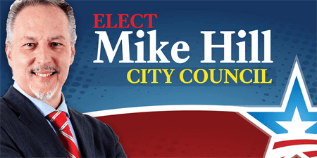City Council Election Car Magnet: 1135-1