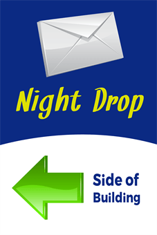 Night Drop Direction Banner: 1659-1