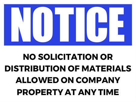 Solicitation Notice Window Decal: 1696-1