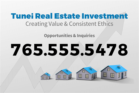 Real Estate Invest Business Card: 1769-1