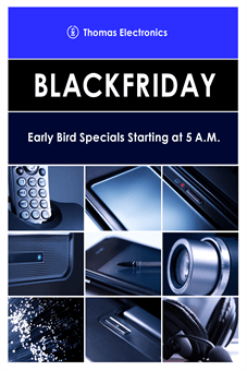 Black Friday Morning Poster