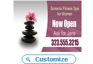 Womens Fitness Spa Promotion
