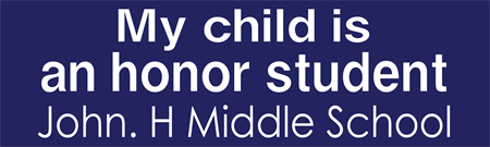 Honor Student Bumper Sticker: 3380-1