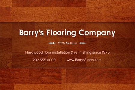 Flooring Installation Window Decal: 1227-2