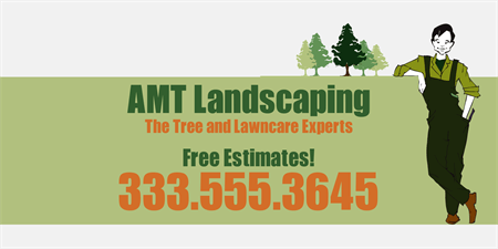Landscaping Company Car Magnet: 195-1