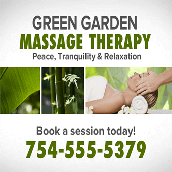 Massage Therapy Backlit Sign