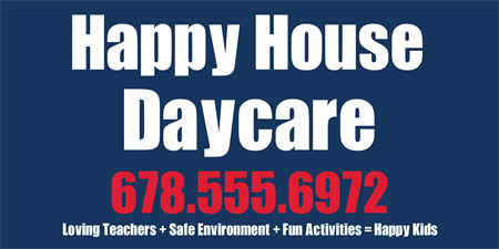Daycare Center Business Card: 226-1