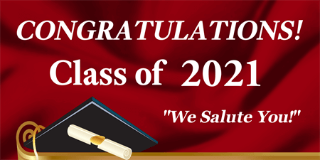 Graduation Scroll Backdrop Signazon