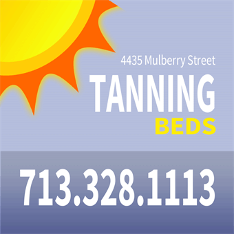 Tanning Bed Advertising Flyer