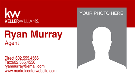 Keller Williams Realty Company Business Card: 726-9