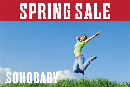 Spring Sale Promo Window Decal: 3405-4