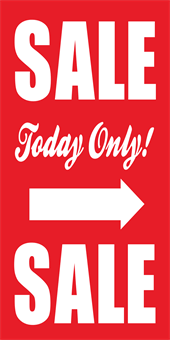 One Day Sale Banner: 1510-3