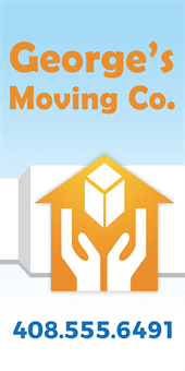 Moving Services Car Magnet: 907-3