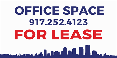 Building For Lease Yard Sign: 602-3
