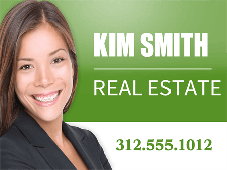 Real Estate Agent Yard Sign: 904-3