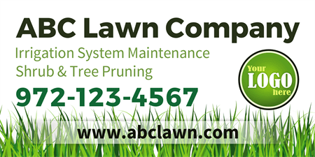 Lawn Company Banner: 515-1