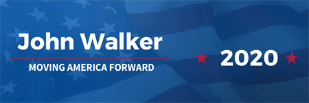 Scott Walker Candidate Bumper Sticker: 3522-5