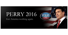 Rick Perry Slogan Bumper Sticker: 1112-5