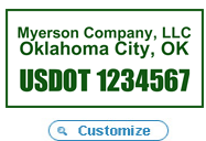 US DOT Tracking Number