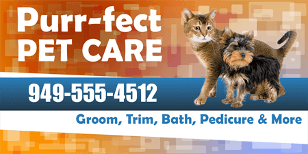 Pet Care Boarding Service Business Card: 708-1