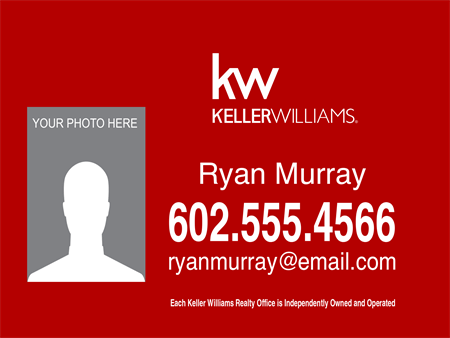 Keller Williams Realty Company Car Magnet: 726-1